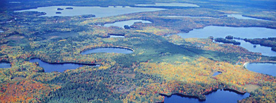 Trout Lake from the air